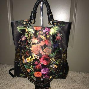 Elliott Luca Floral Handbag